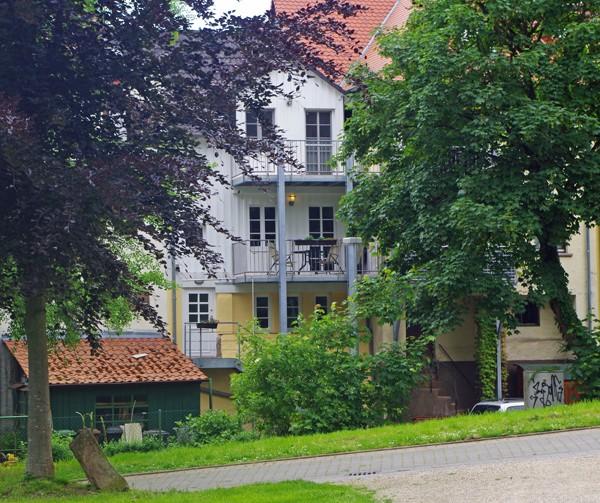 Ferien-Wohung bei Heidelberg, Fewo am Menzer Park Ansicht