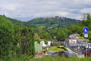 Neckargemünd Blick auf Dilsberg