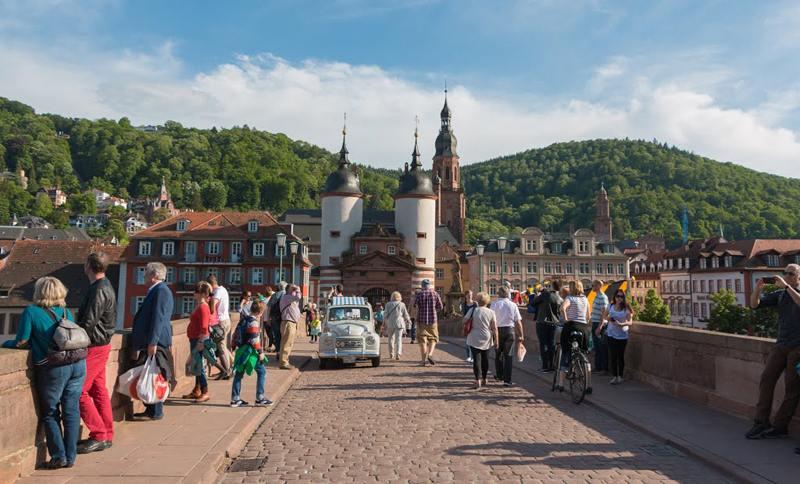 Alte Brücke Heidelberg, Herz der Kurpfalz